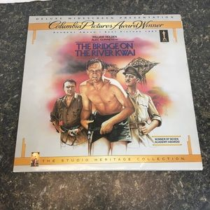 The Bridge On The River Kwai Laserdisc widescreen